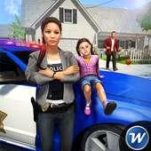 My Family Working Mom : Police Duty