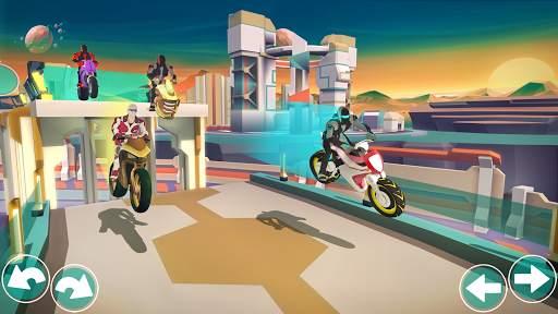 Gravity Rider: Extreme Balance Space Bike Racing Screen Shot 6