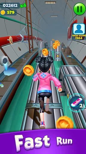 Subway Princess Runner Screen Shot 3