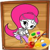 Coloring Pages for Lol Princesses and dolls