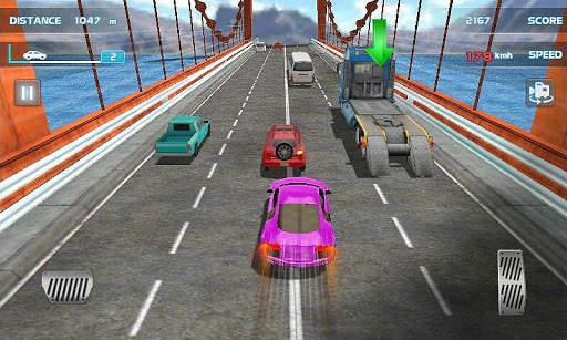 Turbo Driving Racing 3D Screen Shot 1