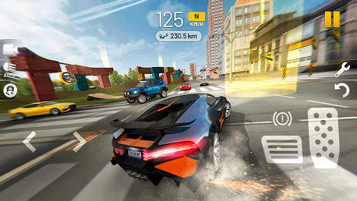Extreme Car Driving Simulator Screen Shot 0
