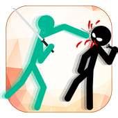Stick Men Fighting - Multiplayer Ninja Fight Game