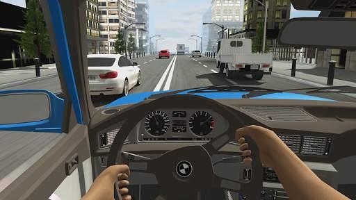 Racing in Car 2 Screen Shot 3