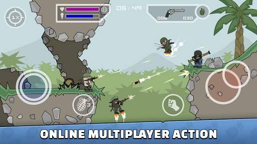 Mini Militia - Doodle Army 2 Screen Shot 0