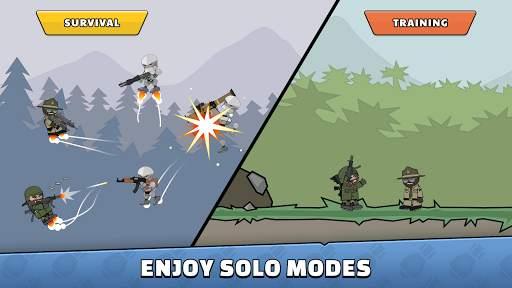 Mini Militia - Doodle Army 2 Screen Shot 6