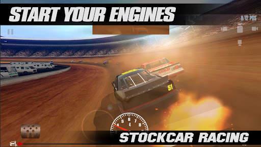 Stock Car Racing Screen Shot 1