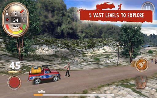 Zombie Derby Screen Shot 7