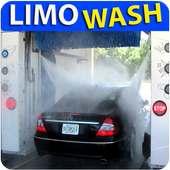 New Limousine Car Wash Service Station 2018 3D