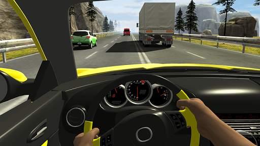 Racing in Car 2 Screen Shot 4