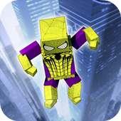 Cube X-HERO and Spider Hero