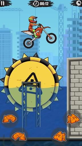 Moto X3M Bike Race Game Screen Shot 4