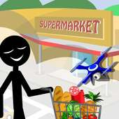 Stickman Supermarket
