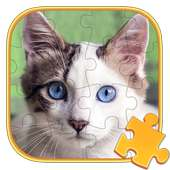 Jigsaw Puzzles Cat Games