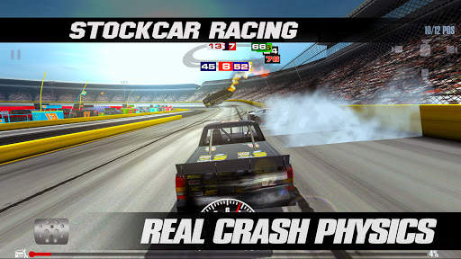 Stock Car Racing Screen Shot 2