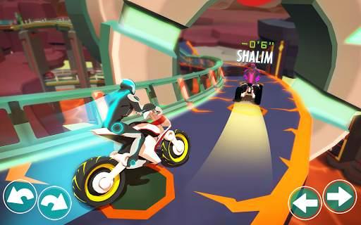 Gravity Rider: Extreme Balance Space Bike Racing Screen Shot 11