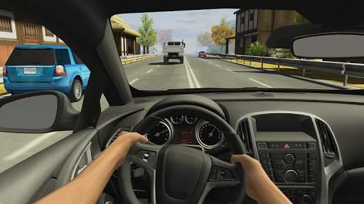 Racing in Car 2 Screen Shot 0