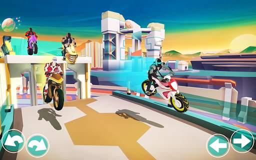 Gravity Rider: Extreme Balance Space Bike Racing Screen Shot 14