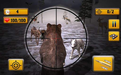 Wild Animal Shooting Screen Shot 5