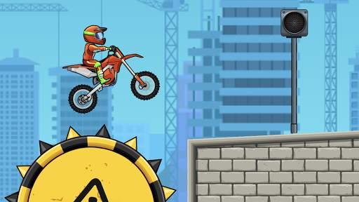 Moto X3M Bike Race Game Screen Shot 0