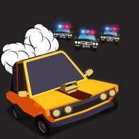 Crazy Police Drift Racing