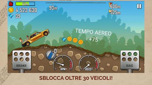 Hill Climb Racing Screen Shot 1