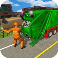 City Trash Truck Simulator-Waste Transporter 2019