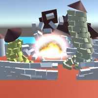 Destruction 3d physics simulation