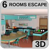 3D Escapar Jogos quebra-cabeça Cozinha