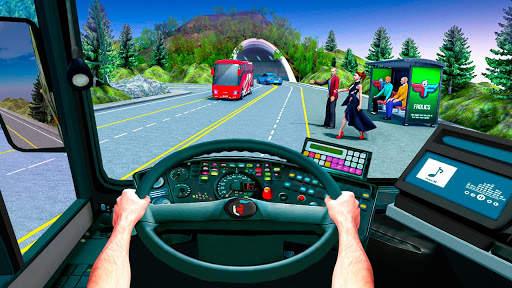 Bus Simulator Games: Bus Games Screen Shot 4