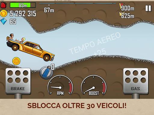 Hill Climb Racing Screen Shot 6