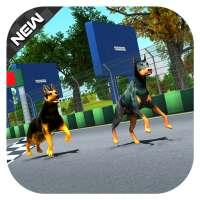 Pet Dog Run Simulator - Greyhound Racing Game