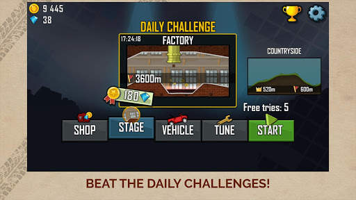 Hill Climb Racing Screen Shot 4