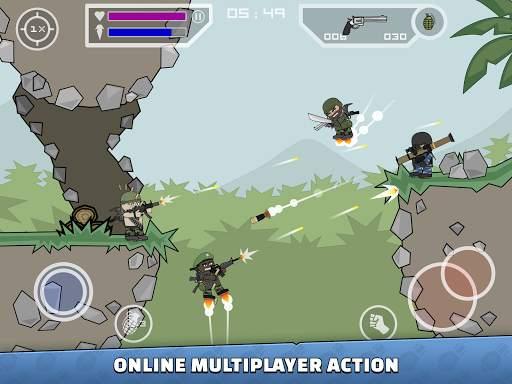 Mini Militia - Doodle Army 2 Screen Shot 7