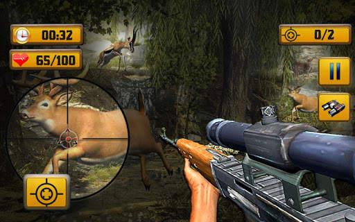 Wild Animal Shooting Screen Shot 7