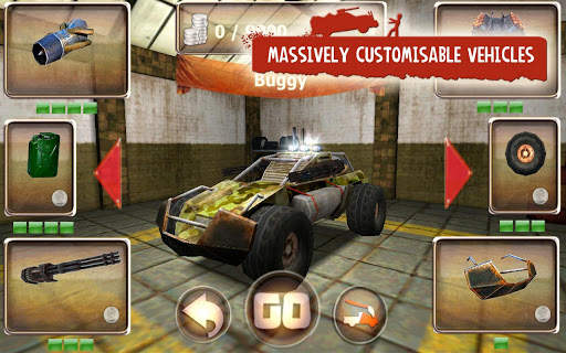 Zombie Derby Screen Shot 13