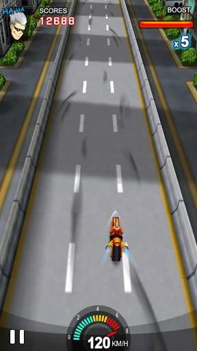 Racing Moto Screen Shot 7
