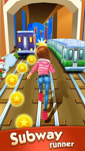 Subway Princess Runner Screen Shot 0