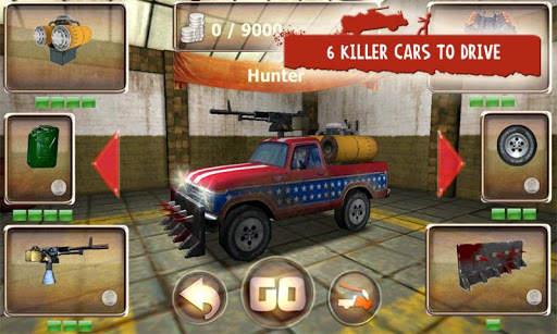 Zombie Derby Screen Shot 0