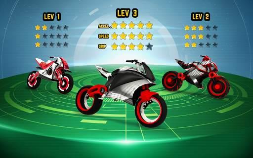 Gravity Rider: Extreme Balance Space Bike Racing Screen Shot 12