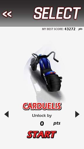 Racing Moto Screen Shot 2