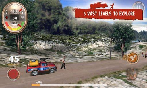 Zombie Derby Screen Shot 2
