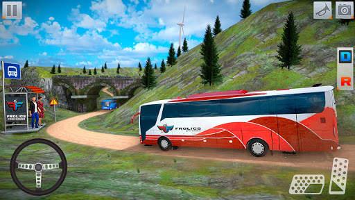 Bus Simulator Games: Bus Games Screen Shot 3