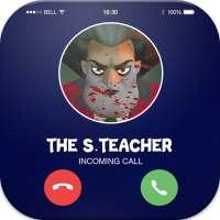 Talk To Teacher 3D™ - Scary Teacher Call Simulator