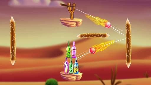 Bottle Shooting Game 2 Screen Shot 1