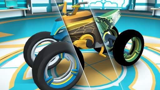 Gravity Rider: Extreme Balance Space Bike Racing Screen Shot 0