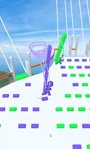 Bridge Race Screen Shot 3