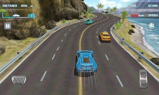 Turbo Driving Racing 3D Screen Shot 0