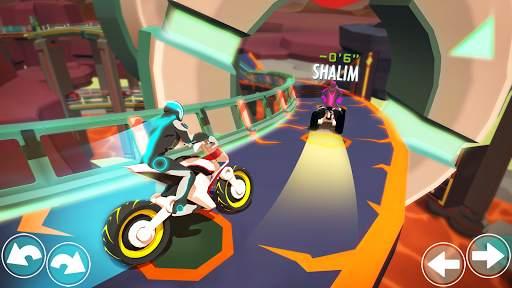 Gravity Rider: Extreme Balance Space Bike Racing Screen Shot 3