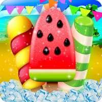 Yummy Watermelon Ice Candy - Slice & Cupcake Game